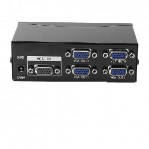 Vga Splitter 4 Port 200 Mhz