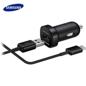 samsung fast charge car charger usb type c
