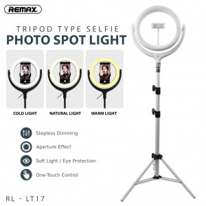 Remax 26cm With Stand Life Desktop Selfi Spot Light Rl-Lt17