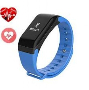 F1 Plus Blood Pressure Waterproof Bluetooth Fitness Bracelet Heart Rate Monitor