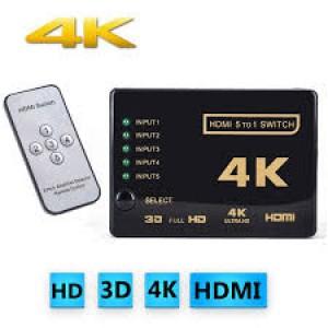 Hdmi Switch 5 Port 2k/4k