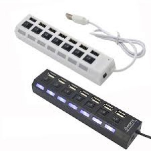 Usb Hub 7 Port 2.0 With Switch