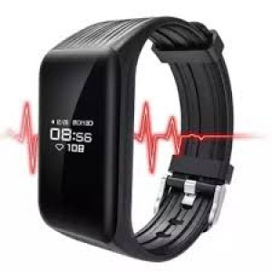 K1 Blood Pressure Waterproof Bluetooth Fitness Bracelet Heart Rate Monitor