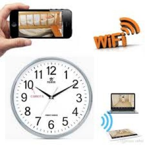 Hidden Wifi Wall Clock 1080p