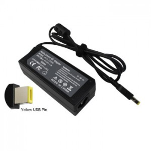 Lenovo Square Pin Laptop Charger 20v 3.25a 65w (Usb)