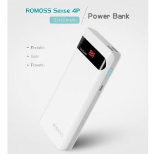 fast charging romoss sense 4p 10400mah power bank