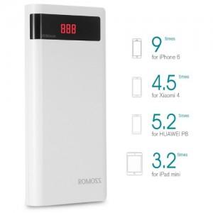 Romoss Sense 6p 20000mah Power Bank For Smart Phones