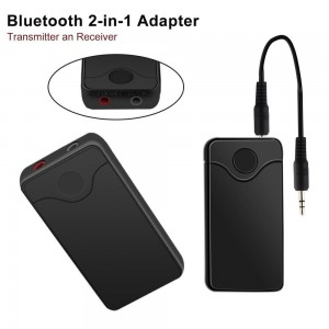 Wireless 2-In-1 B6 Audio Receiver And Transmitter